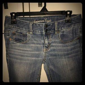 Women's size 2 American eagle bootcut jeans